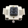 Porta Systems 506 6 Pair protector block termination 66 in 66 out with Modules