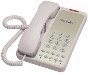 Teledex OPAL 1005S Basic Guest Room Speakerphone OPL76149