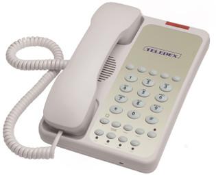 Teledex OPAL 2006 Two Line Guest Room Telephone OPL78039