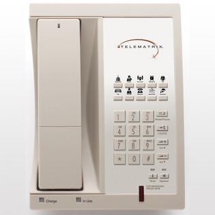Telematrix 9600MWD 1.9Ghz DECT 6.0 Guest Room Cordless 96559 Ash