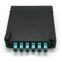 6 Port Mini Wall Mount Fiber Panel SC SM Single Mode
