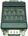 Serial RS232 DB9 DTE DCE 9 LED Link Tester No Power Required