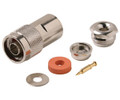 N Male Clamp Coaxial Connector RG8A/11/213/214