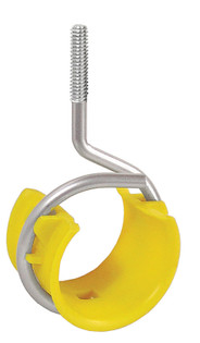 """2"""" Bridle Ring Loop With Plenum Saddle for Low Voltage Cable with 1/4-20 thread"""