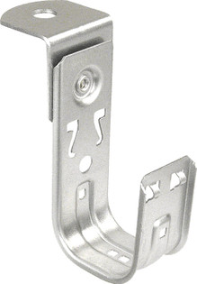 """1-5/16"""" J Hook Cable Support with an Angle Bracket Attachment"""