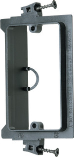 LVS1 Plastic Screw On Low Voltage Mounting Brackets for New Construction