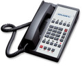 Teledex Diamond L2-10E 2 Line Guest Room Telephone Black DIA672591