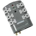 Minuteman MMS760RCT 6 Rotating Outlet Surge Suppressor Coax Phone