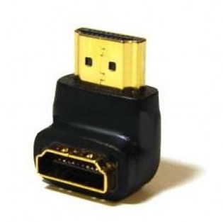 HDMI Coupler Male to Female 90 Degree