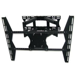 Dual arm Articulating Tilt Swivel TV Mount for 42-63in Displays
