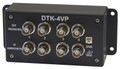 DTK-4VP 4 Channel BNC Camera Video Surge Protector