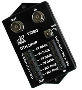 DTK-DP4P Pan Tilt Zoom Camera Surge Protector