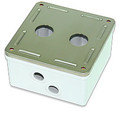 SMKIG-2 2 Port Industrial Grade Surface Mount Box