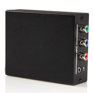 Component to HDMI Video Converter with Audio