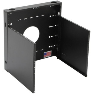 MRQ100V10 MINIRAQ 10U Vertical Slim Wall Mount Rack System