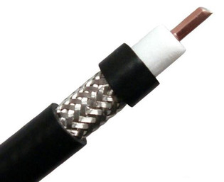Low Loss RF 400 Coax Antenna Cable Similar to LMR400