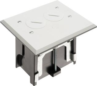 Adjustable Non-Metallic Floor Box for New Floors