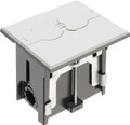 Adjustable Non-Metallic Floor Box for New Floors w/ Flip Lids