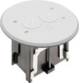 Adjustable Round Non-Metallic Floor Box for New Floors