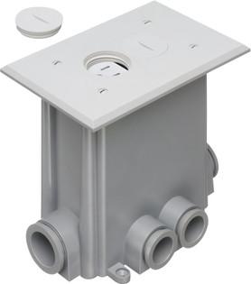Adjustable Non-Metallic Floor Box for New Concrete Poured Floors