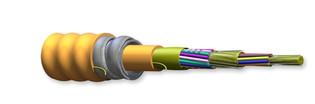 024T88-33131-A3 24F 50 um multimode Interlocking Armored Cable Plenum OM2