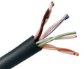 Category 5E CAT5E 350MHz Bulk Cable 24AWG Solid Copper 4 Pair UTP CMP Plenum 1000'