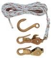 Block and Tackle with Guarded Snap Hooks