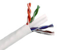 CAT6 600MHz Cable 23AWG UTP 4pr Solid CMP Plenum Pull Box 1000'