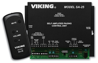 Viking SA-25 Self Amplified Paging System Control Unit