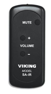 Viking SA-IR Self Amplified Paging System IR Remote
