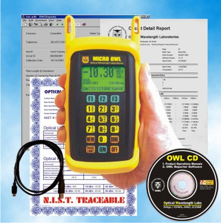 Multimode and Singlemode Fiber Optic Installers Test Kit with Print Out