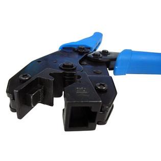 CAT6 Cat6A Crimping Tool Ratchet Type for Modular Plugs 8P8C/RJ45