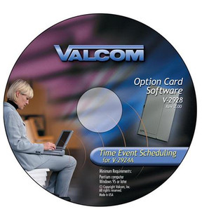 VC-V-2928 Valcom Option Card w/Scheduler
