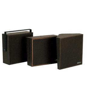 Valcom V1023C Walnut Wall Mount Self Amplified Speaker
