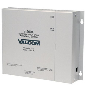 Valcom V2904 Four Door Answering Interface Two Way Communication