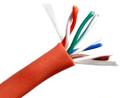 CAT5E 350MHz Bulk Cable 4 Pair 24AWG Stranded, UTP, PVC, CM 1000'