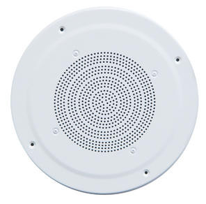 """G86TG 8"""" Dual Paper Cone Classic Grille Ceiling Speaker with Transformer"""