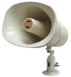 "SPC30RT 11"" x 8"" 70/25V Weatherproof ABS Speaker Horn"