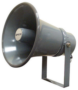 """SPC15T 8"""" 70/25V Weatherproof PA Speaker Horn"""