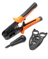 PA4909 Network Modular Tool Bundle Crimper Stripper and Plugs