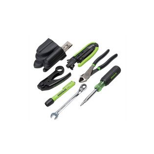Greenlee Professional Coax Cable Tool Kit 46601