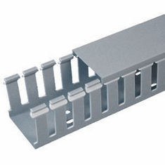 """Slotted Wire Finger Duct 4""""x4""""x6'6"""" Includes Cover"""