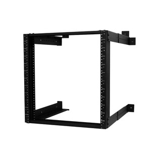 "WR1921-12-02 Wall Mount Fixed Rack 12RU Adjustable Depth 18""-26"""