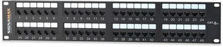 Signamax 48 Port Category 6 Patch Panel (48458MD-C6C)