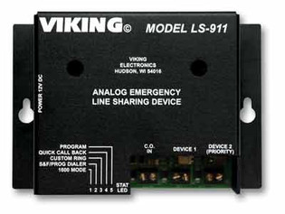 LS-911 Analog Line Sharing Device for IP PBX's VoIP Phone Systems