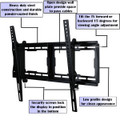 "TV Wall Mount Bracket for Most 23""- 65"" LCD LED VESA 200x100 to 600x400mm (TMT1000)"