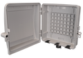 Outdoor Fiber Distribution Box Includes SPlice Tray up to 2 Panels RNI-2500