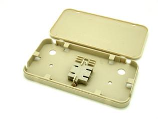 Dual Fiber Panel FTTH or Fiber to the Desk Top 2SC MM