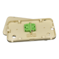 Dual FIber Panel for FTTH or Fiber to the Desk Top 2SC MM
