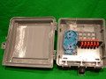 Outdoor Fiber Distribution Box with 12 ST MM and Splice Tray
